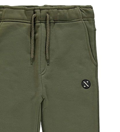 Name It Sweatpants - NkmFeos - Olive Night