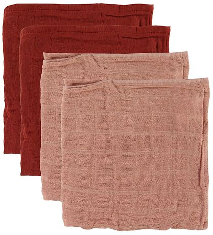 Pippi Stofbleer - 4-pack - 65x65 - Misty Rose