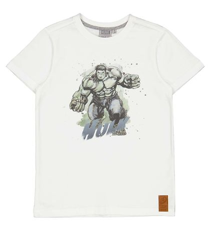 Wheat Marvel T-shirt - Hulk - Off White