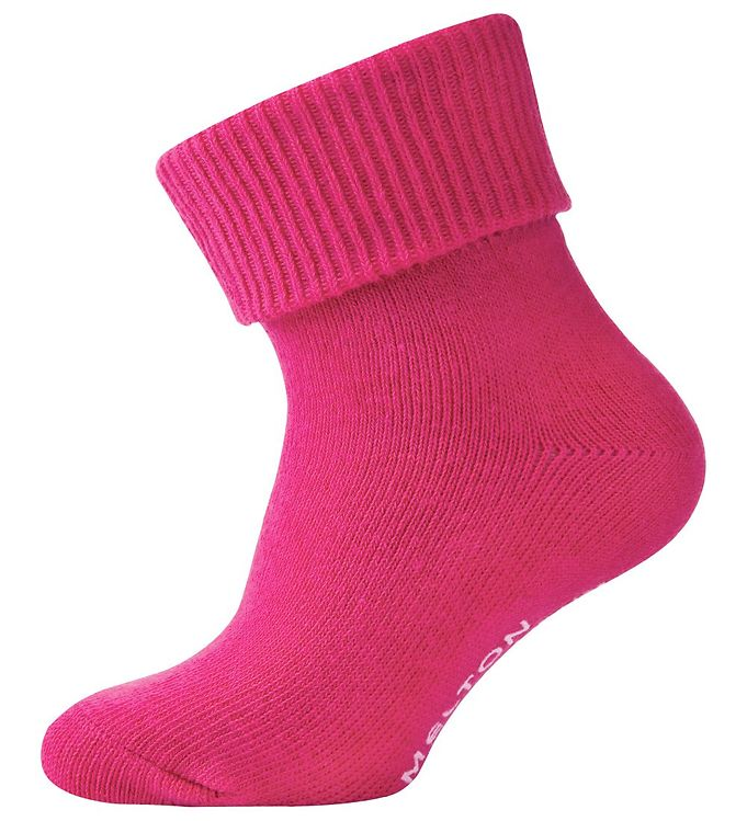 Image of Melton Gå strømpe, pink (B097)