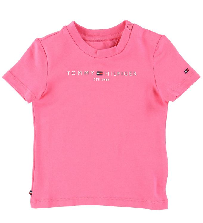 Image of Tommy Hilfiger T-shirt - Essential - Exotic Pink (CA361)