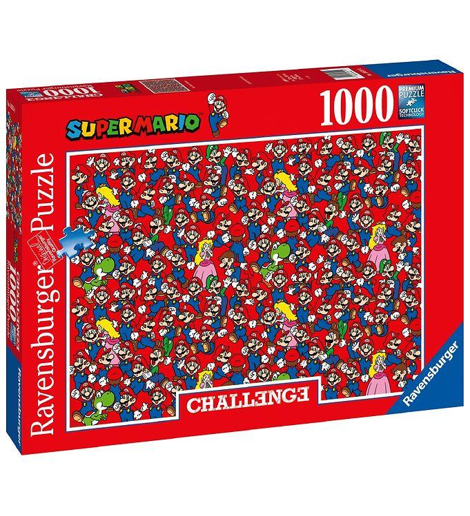 Image of Ravensburger Puslespil - 1000 Brikker - Super Mario (CA409)