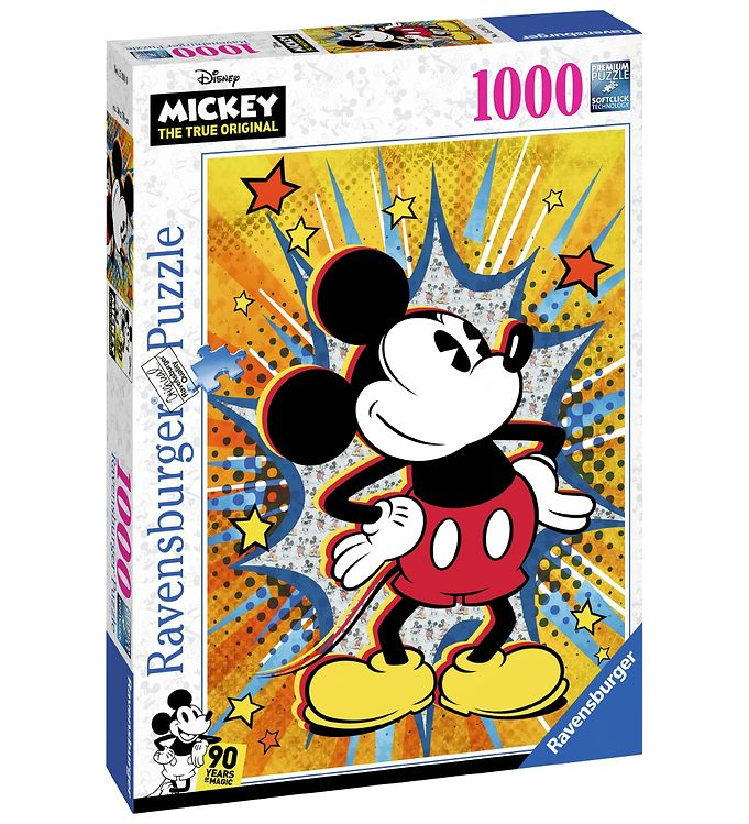 Image of Ravensburger Puslespil - 1000 Brikker - Mickey (CA412)
