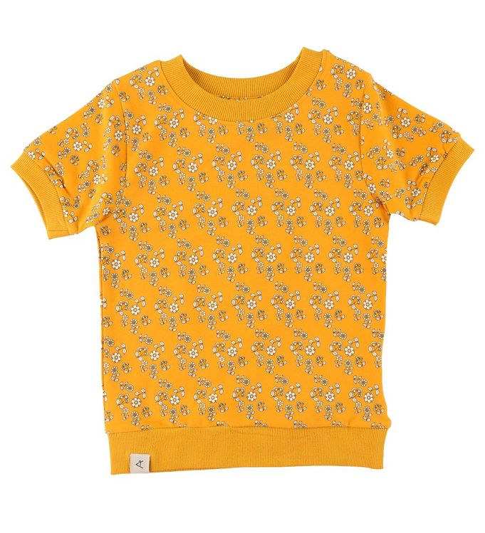 Image of AlbaBaby T-shirt - Alberte - Old Gold Liberty Love (CA416)