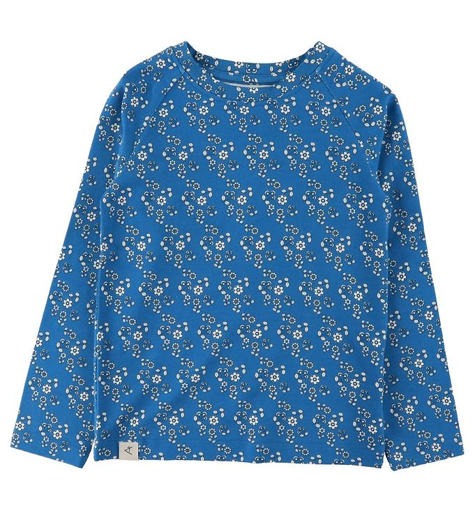 Image of AlbaBaby Bluse - All You Need - Snorkel Blue Liberty Love (CA424)
