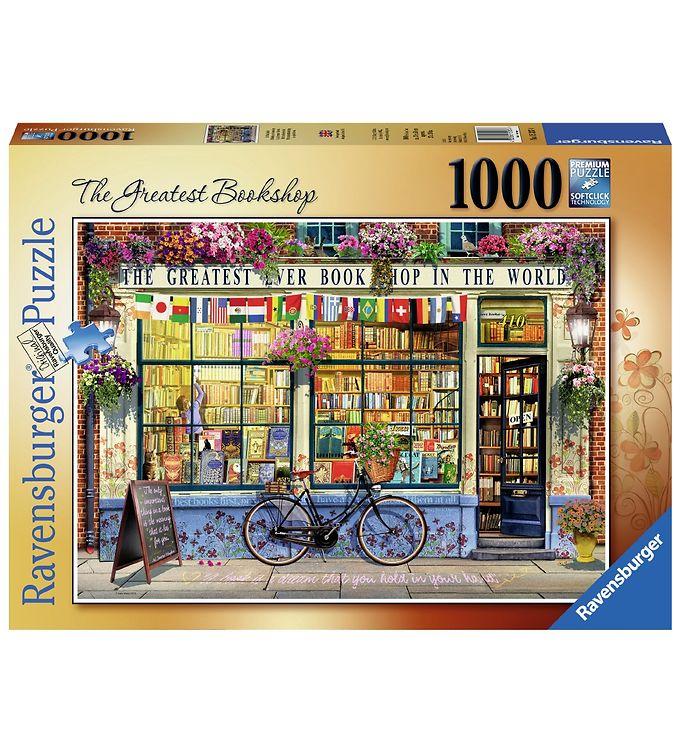 Image of Ravensburger Puslespil - 1000 Brikker - The Greatest Bookshop (CA428)