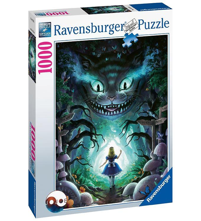Image of Ravensburger Puslespil - 1000 Brikker - Disney - Alice I Eventyr (CA433)