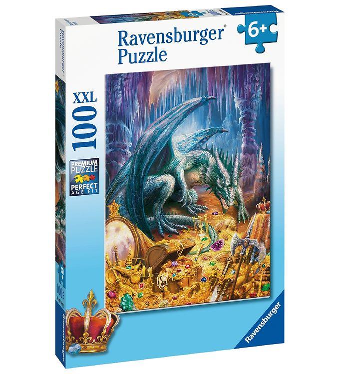 Image of Ravensburger Puslespil - 100 Brikker - Dragon´s Treasure (CA463)
