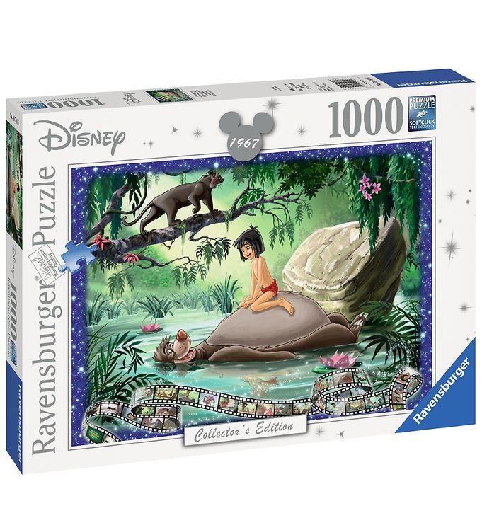 Image of Ravensburger Puslespil - 1000 Brikker - Disney - Junglebogen (CA470)