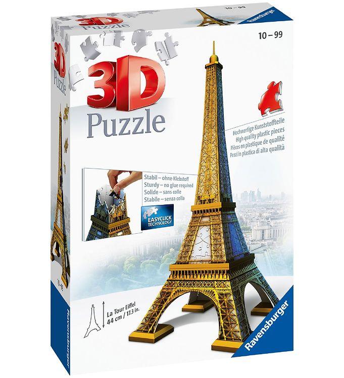 Image of Ravensburger 3D Puslespil - 216 Brikker - Eiffeltårn (CA503)