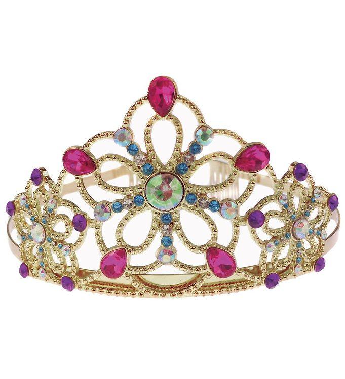 Image of Great Pretenders Udklædning - Be Jewelled Tiara - Guld (CA601)