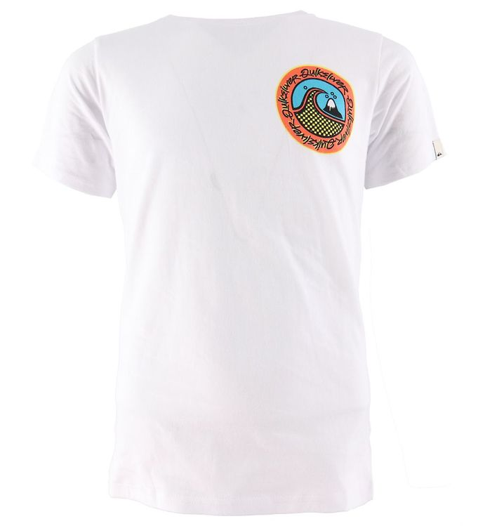 Image of Quiksilver T-shirt - Electric Root - Hvid (CA854)