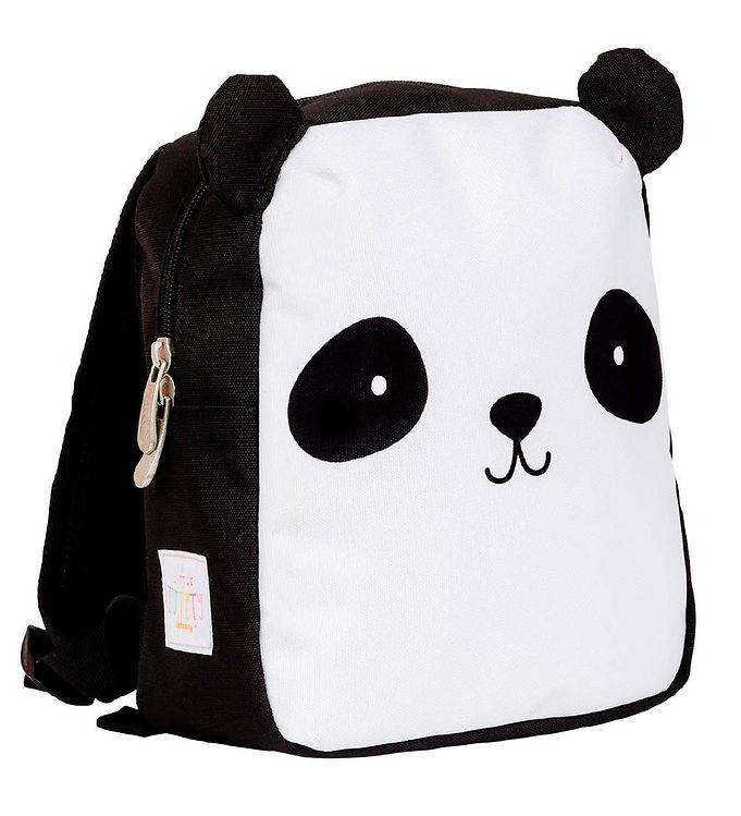 Image of A Little Lovely Company Børnehavetaske - 21x26x10 cm - Panda (CB079)