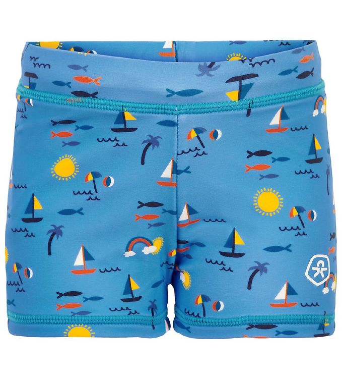 Image of Color Kids Badeshorts - UV40+ - Marina (CB284)