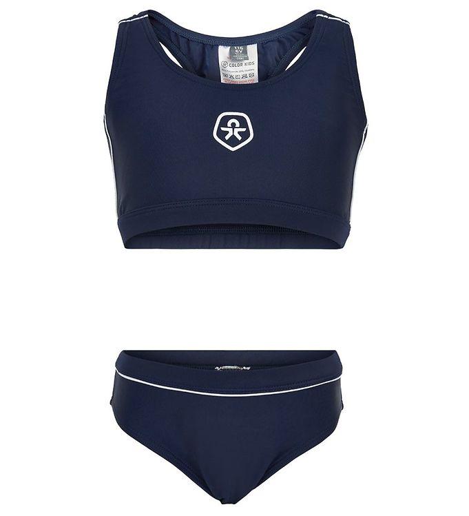 Image of Color Kids Bikini - UV50+ - Dress Blues (CB286)
