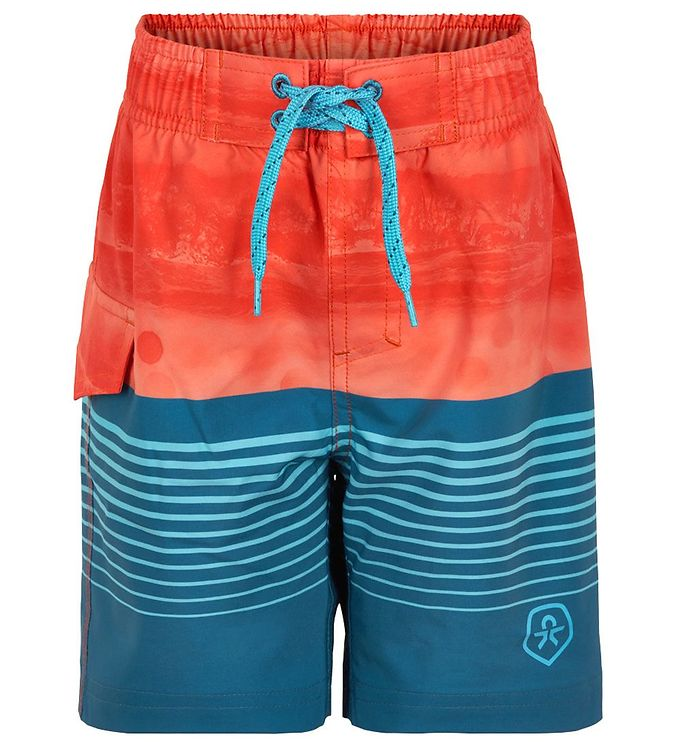 Image of Color Kids Badeshorts - Blue Sapphire (CB290)