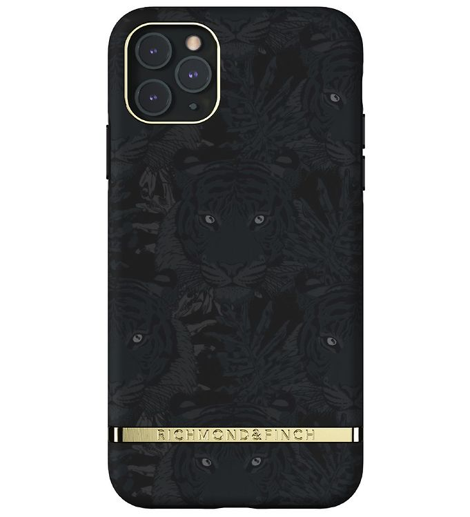 Image of Richmond & Finch Cover - iPhone 11 Pro Max - Black Tiger (CB576)