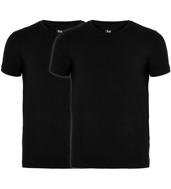 Image of JBS T-shirt - 2-pak - Bambus - Sort (CB664)