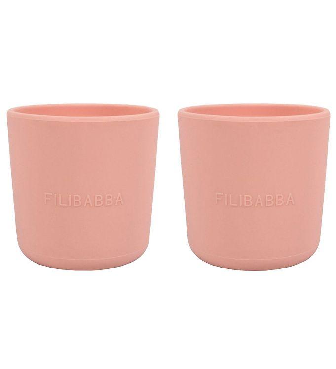 Image of Filibabba Kop - 2-pak - Silikone - Peach (CB676)
