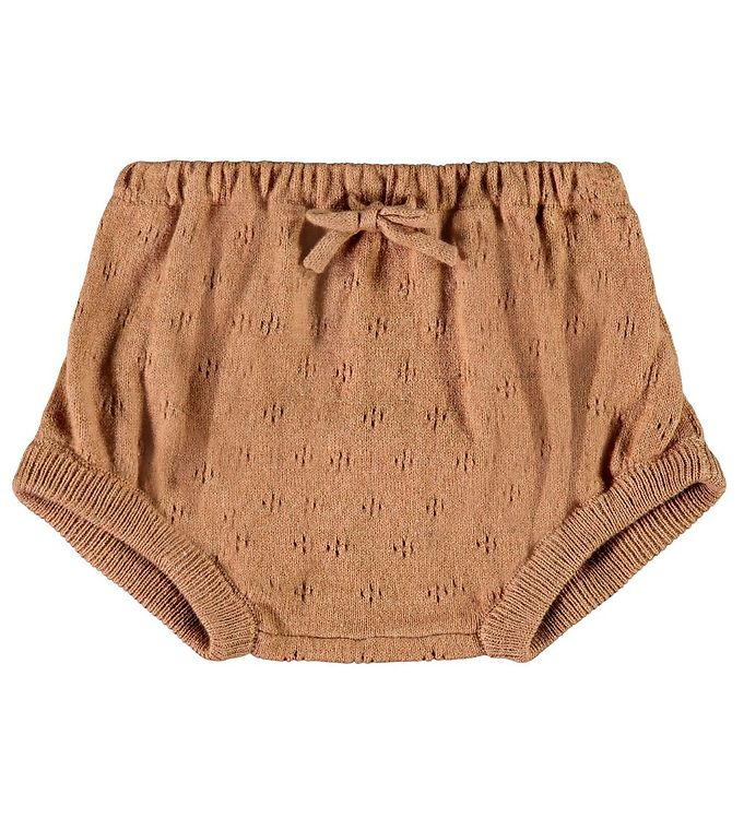 Image of Lil' Atelier Bloomers - Silke/Bomuld - NbfGliva - Tobacco Brown (CD112)