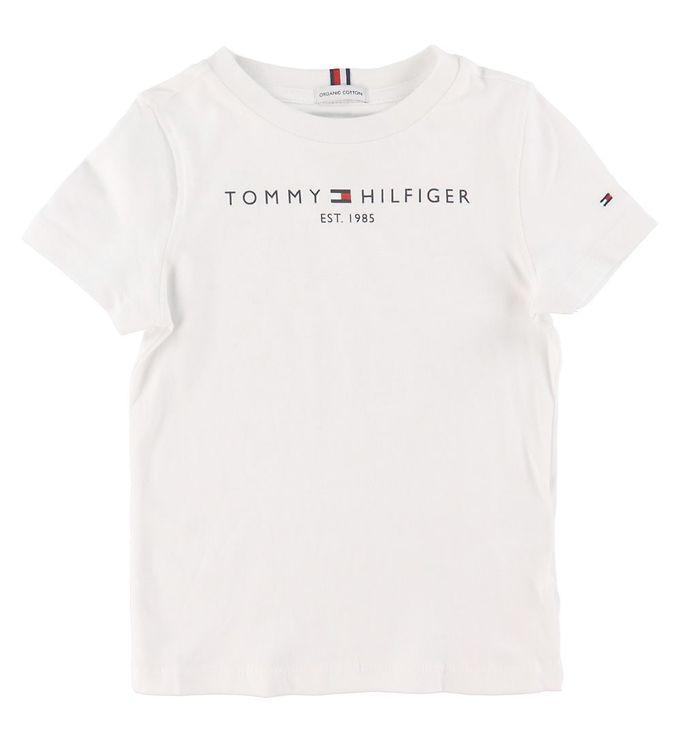 Image of Tommy Hilfiger T-shirt - Essential - Organic - Hvid (CD162)