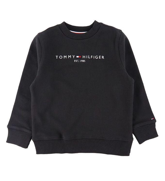 Image of Tommy Hilfiger Sweatshirt - Essential - Organic - Sort (CD168)