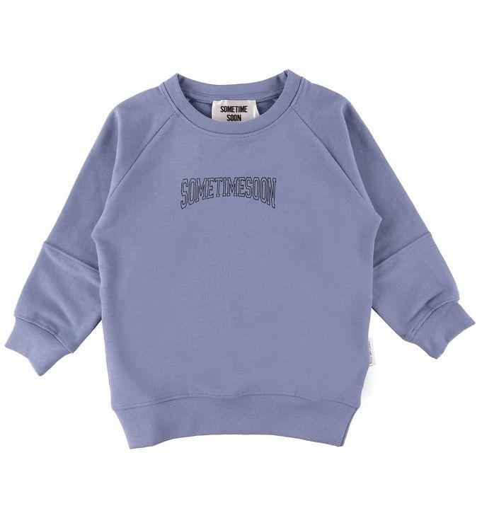 Image of Sometime Soon Sweatshirt - Karlo - Blå (CD370)