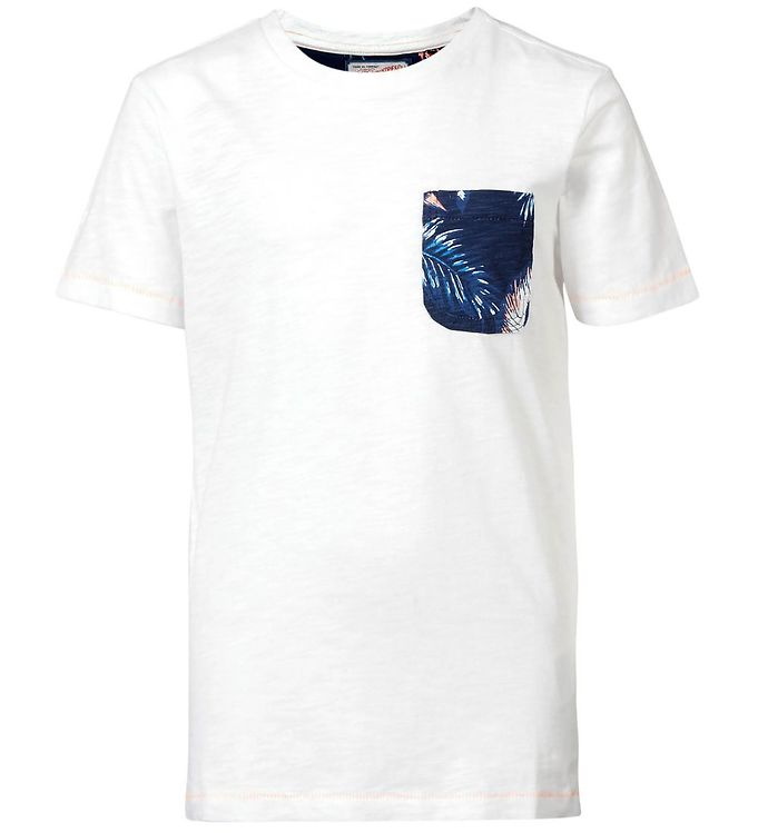 Image of Petrol Industries T-shirt - Bright White m. Lomme (CD379)