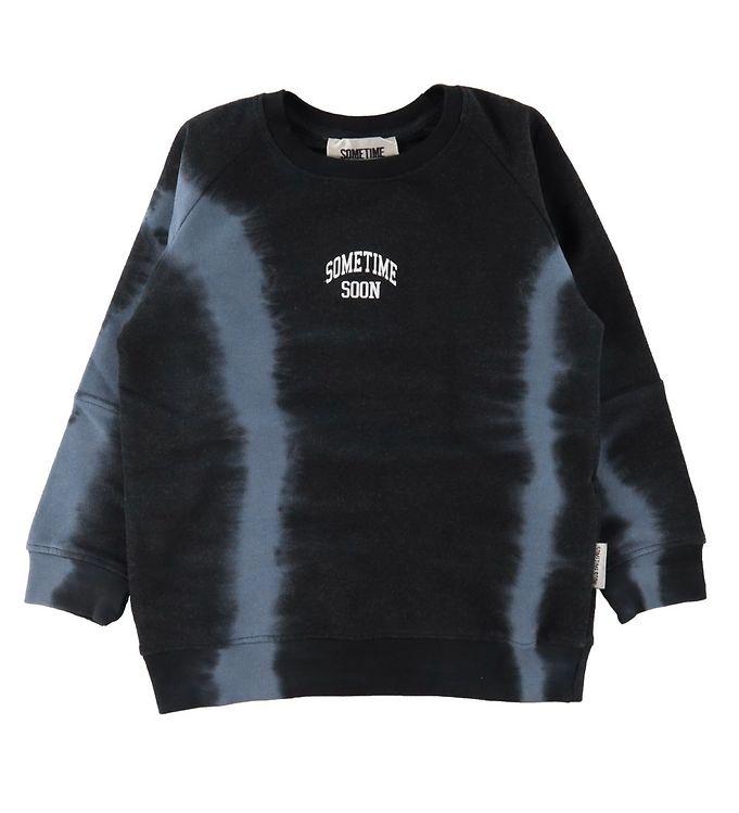 Image of Sometime Soon Sweatshirt - River - Sort Tie Dye (CD538)