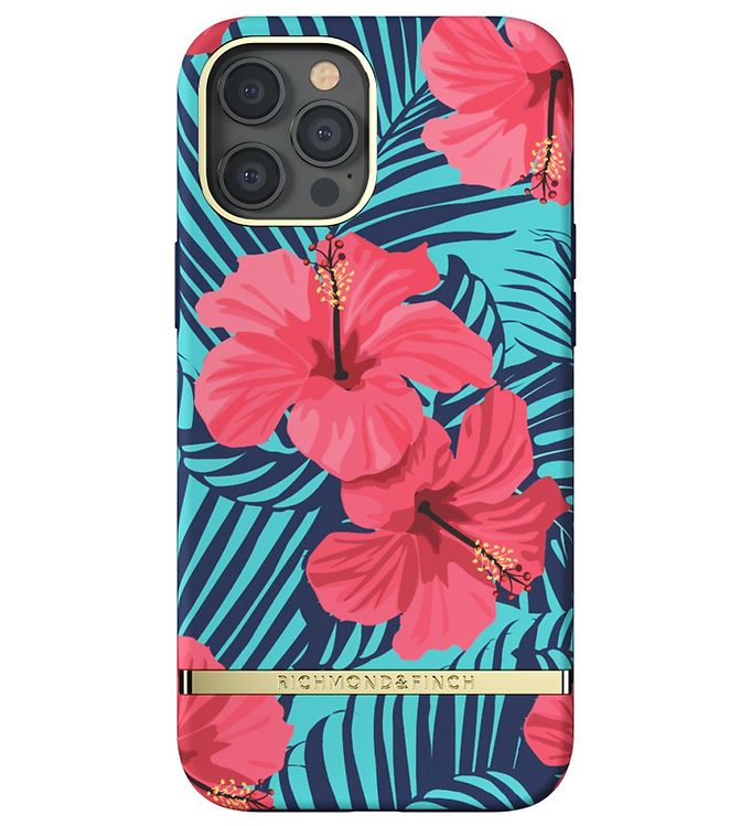 Image of Richmond & Finch Cover - iPhone 12 Pro Max - Red Hibiscus (CD704)