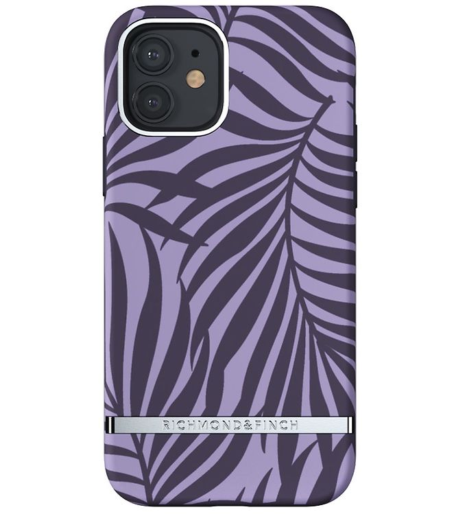Image of Richmond & Finch Cover - iPhone 12/12 Pro - Purple Palm (CD706)