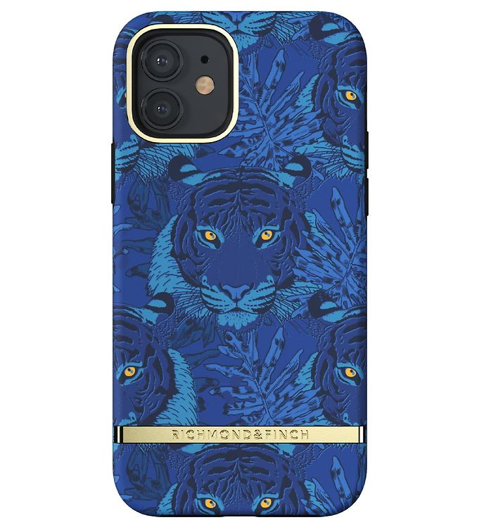 Image of Richmond & Finch Cover - iPhone 12/12 Pro - Blue Tiger (CD709)