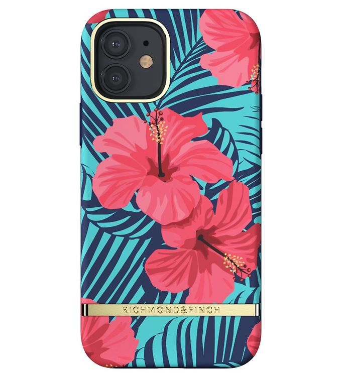 Image of Richmond & Finch Cover - iPhone 12/12 Pro - Red Hibiscus (CD711)