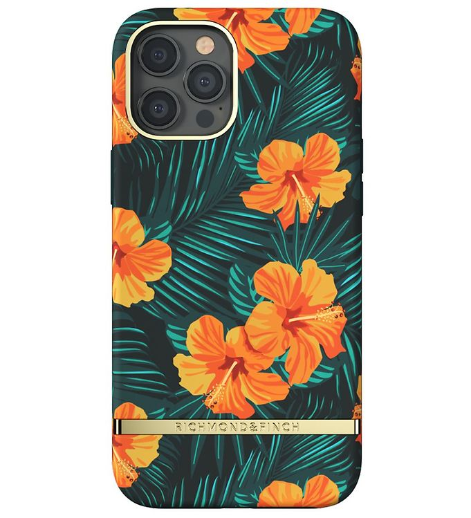 Image of Richmond & Finch Cover - iPhone 12 Pro Max - Orange Hibiscus (CD712)