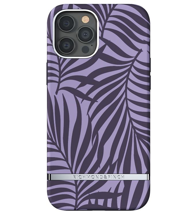 Image of Richmond & Finch Cover - iPhone 12 Pro Max - Purple Palm (CD714)
