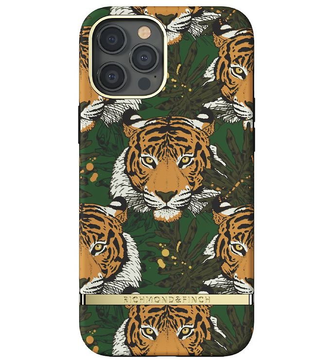 Image of Richmond & Finch Cover - iPhone 12 Pro Max - Green Tiger (CD716)