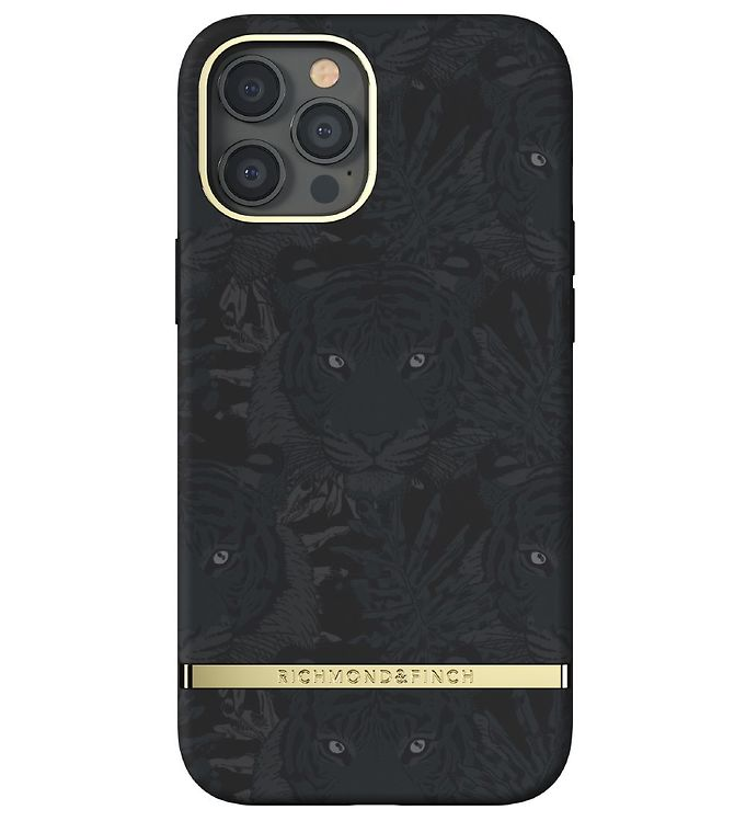 Image of Richmond & Finch Cover - iPhone 12 Pro Max - Black Tiger (CD719)