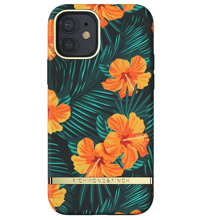 Image of Richmond & Finch Cover - iPhone 12/12 Pro - Orange Hibiscus (CD720)