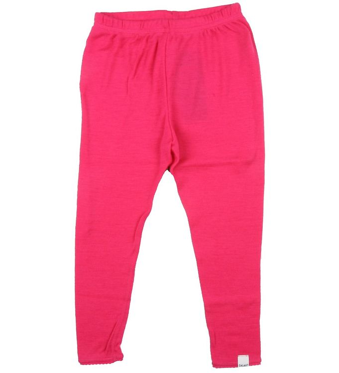 Billede af CelaVi Uld Leggings, pink