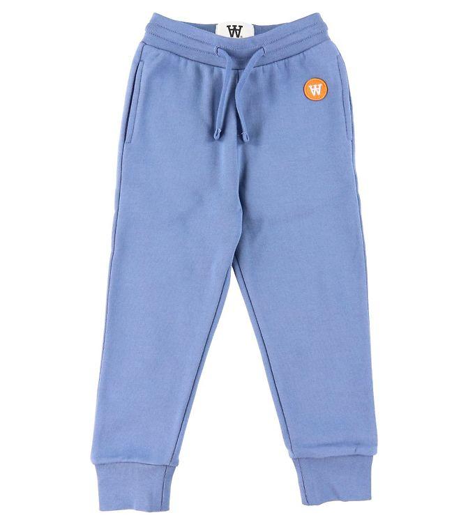 Image of Wood Wood Sweatpants - Ran - Vintage Blue (DA502)