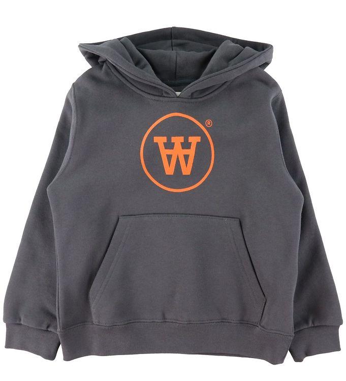 Image of Wood Wood Sweatshirt - Rod - Dark Grey (DA520)