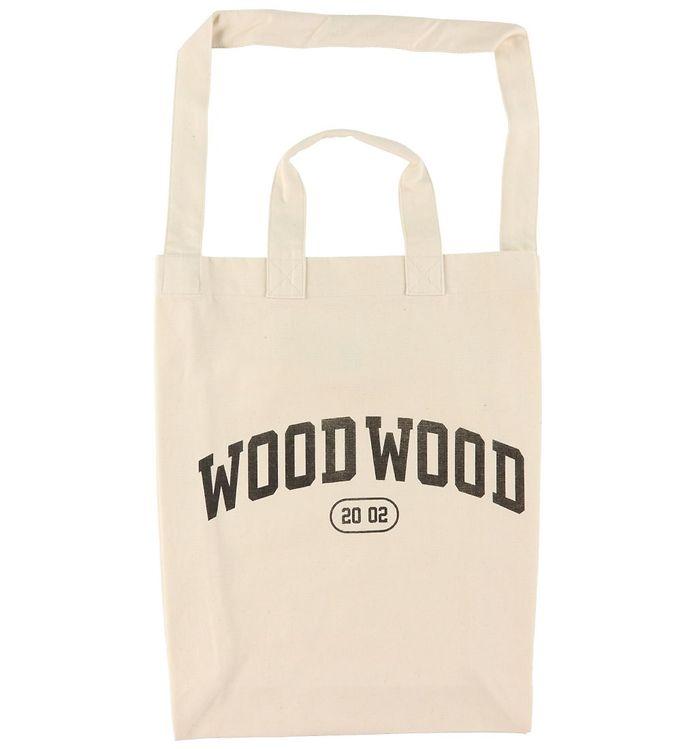 Image of Wood Wood Shopper - High Canvas - Black (DA521)