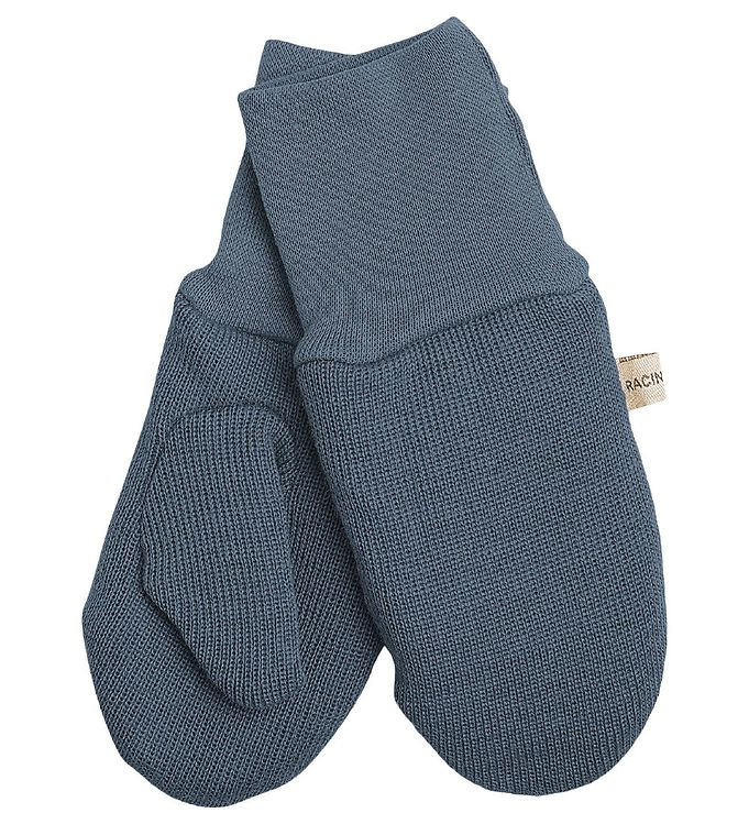 Racing Kids Luffer – Uld/Bomuld – Dusty Blue
