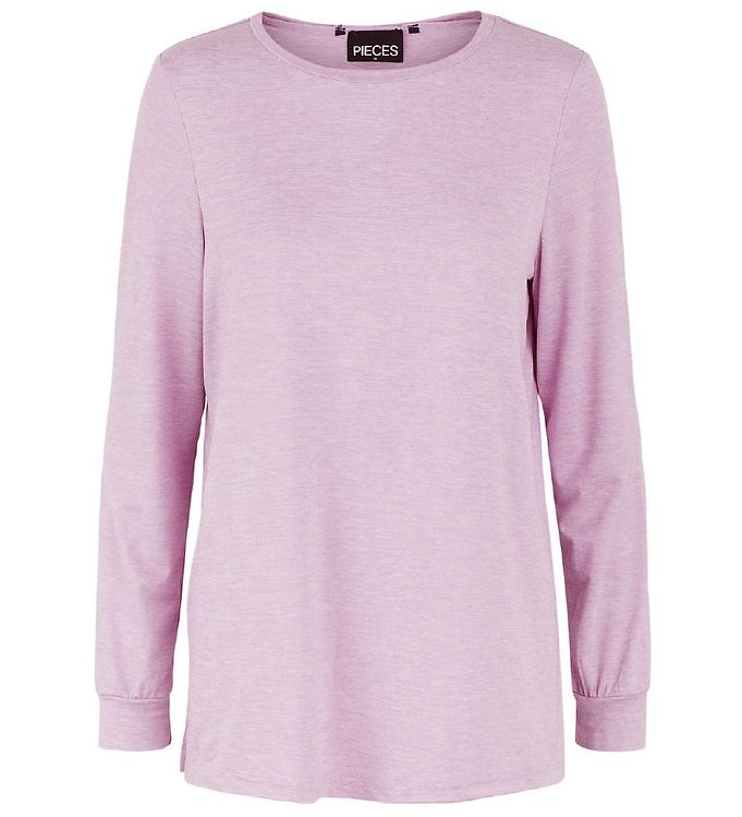 Image of Little Pieces Bluse - LpSunday - Lilac Chiffon (DB352)