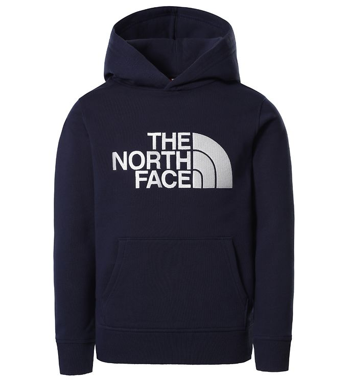 Image of The North Face Hættetrøje - Drew Peak - Navy/White (DB971)