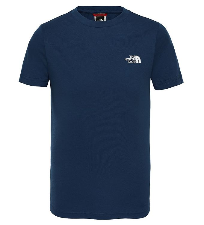 Image of The North Face T-shirt - Simple Dome - Navy (DE174)
