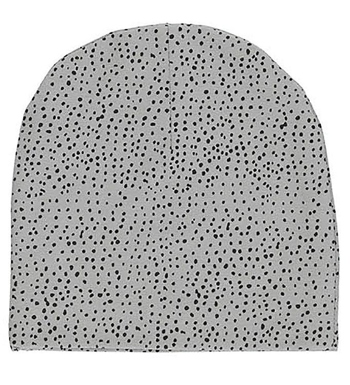 Image of Gro Beanie - Elif - Grey Dawn m. Prikker (EA361)
