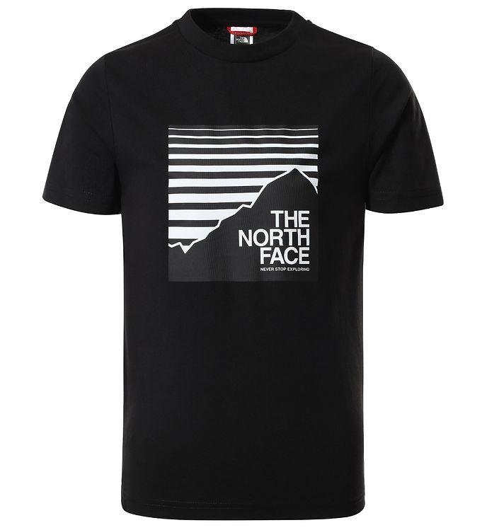 Image of The North Face T-shirt - Box - Black/White (EA401)
