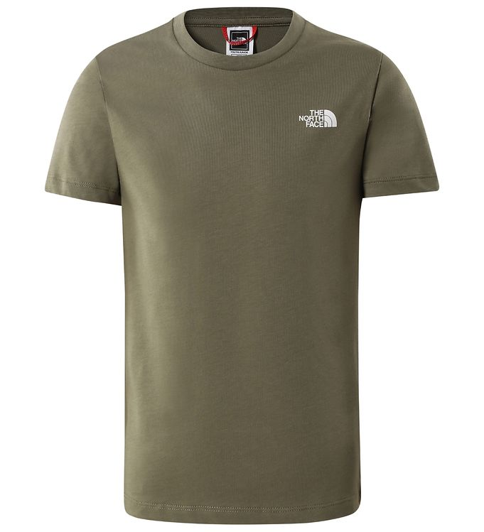 Image of The North Face T-shirt - Simple Dome - Olive Green (EA405)