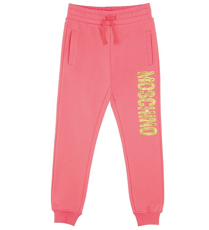 Image of Moschino Sweatpants - Aurora Pink m. Guld (EB031)